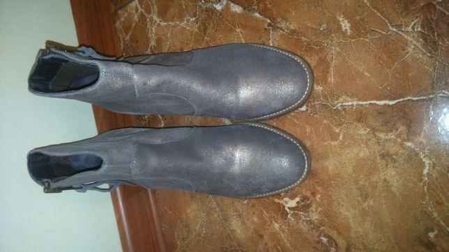 Ботинки кожа, 39