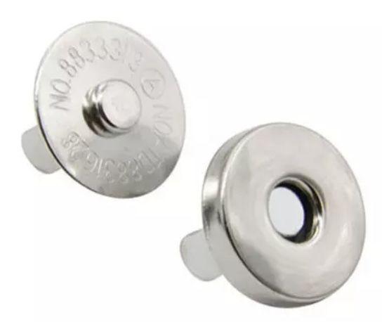 Molas/Botoes Magneticos 14 mm - 10 unidades