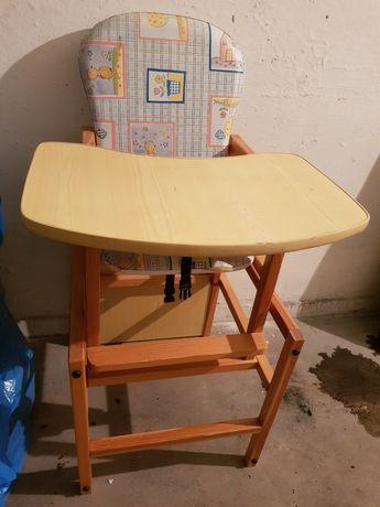 Krzesełko do karmienia i zabawy