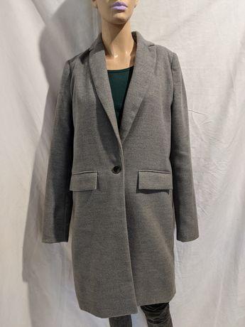 Пальто серое Pull&Bear (возможен торг)