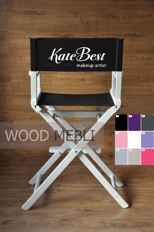 В наличии! Стул для визажиста, режиссерский, складной, деревянный .
