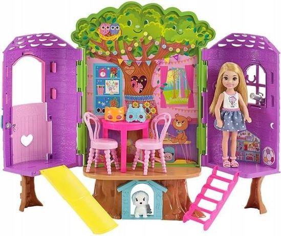Barbie lalka Chelsea Tree House mattel FPF83girl