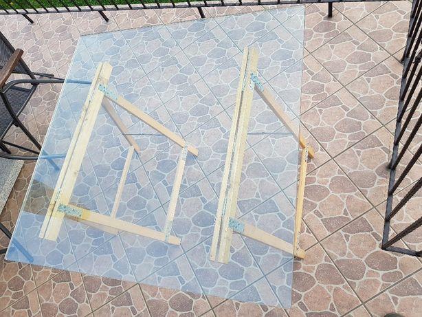Szyba gruba do ławy, stolika, stołu, szyba 100 cm x 100 cm