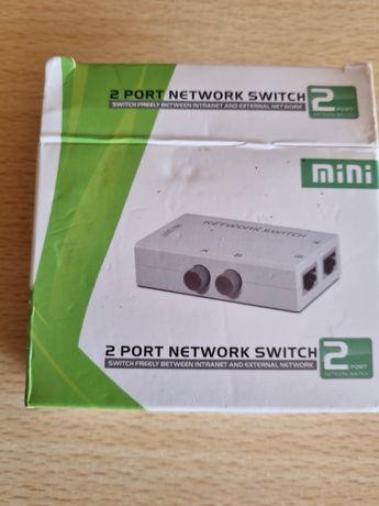 Mini switch 2 portas