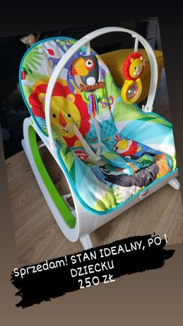 Leżaczek bujaczek Fischer Price Infant to Toddler Rocker