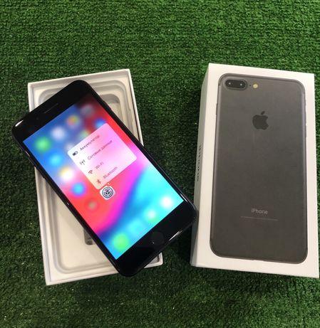 IPhone 7 Plus 128 Black neverlock Гарантия 3 мес Идеальное состояние