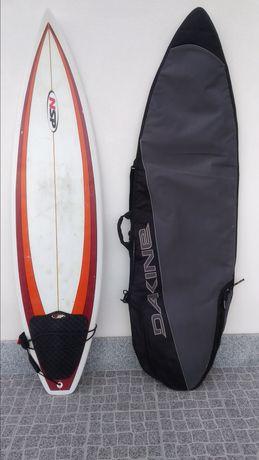 Prancha de Surf 6'4 NSP com saco