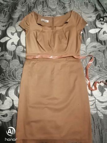 Brązowa sukienka rozmiar 42