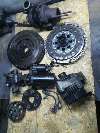 BMW e34 TDS sprzęgło rozrusznik alternator pompa wspomagania turbo