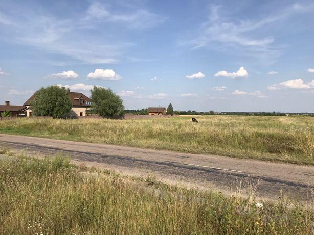 Ділянка 0,24 га під забудову 45 км від Києва