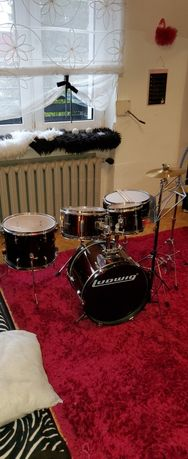 Zestaw Perkusyjny Ludwig LJR 1064 WINE JUNIOR