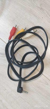 Przewód Jack 3.5mm - 3 x cinch 1.5m