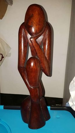 Escultura madeira