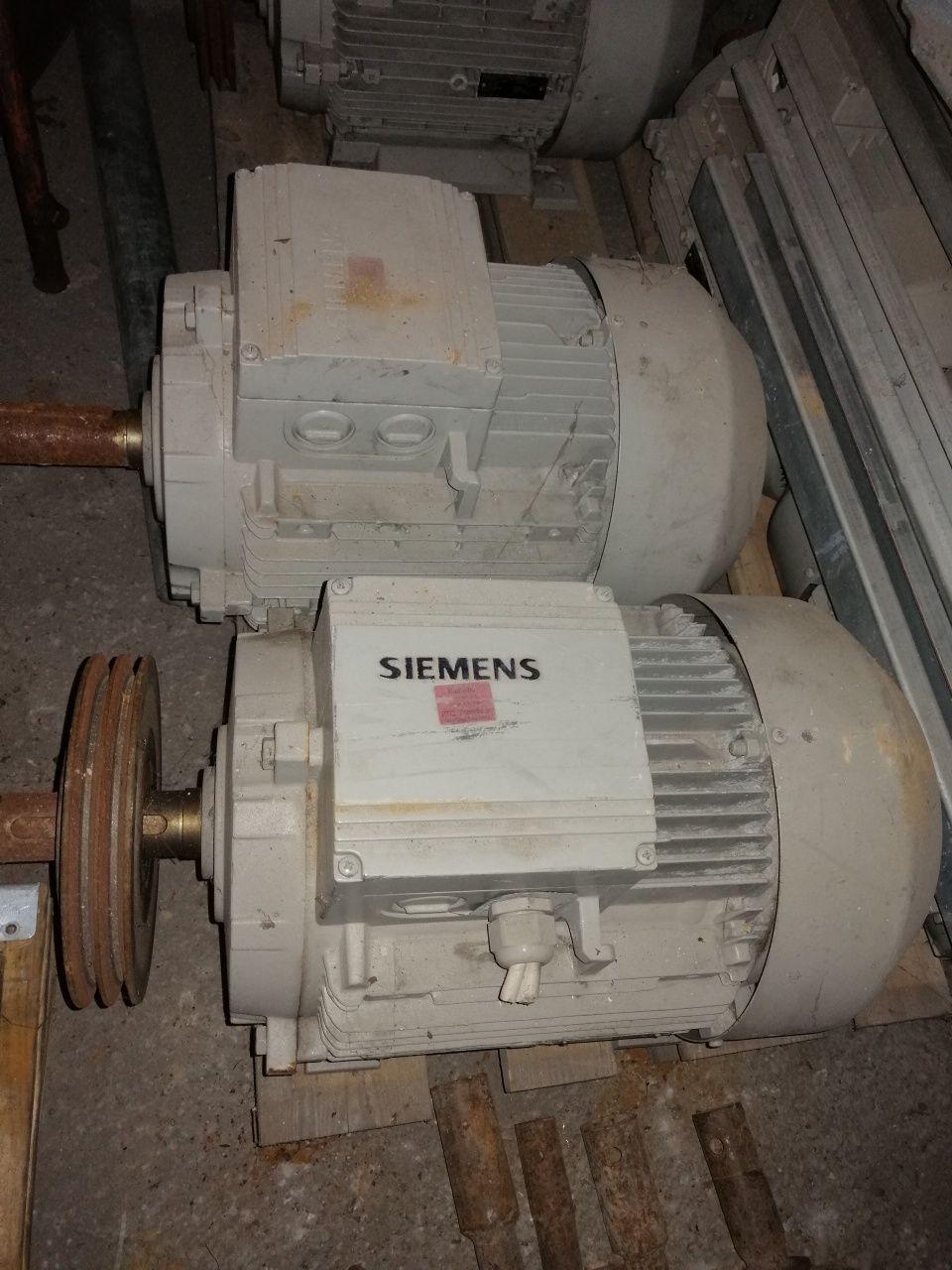Silnik Siemens 14kw
