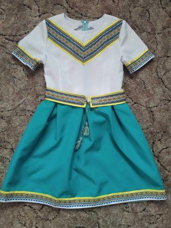 Платье вышиванка на рост 146-152