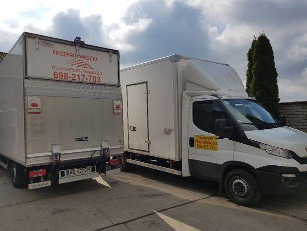 Przeprowadzki Transport Samochód z Windą 24/7 Magazyn