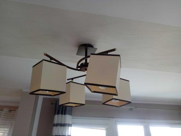 Lampa wisząca 4 źródła światła