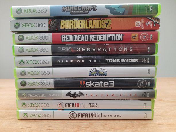 Gry do Xbox 360 + Portal do skykanders i figurki