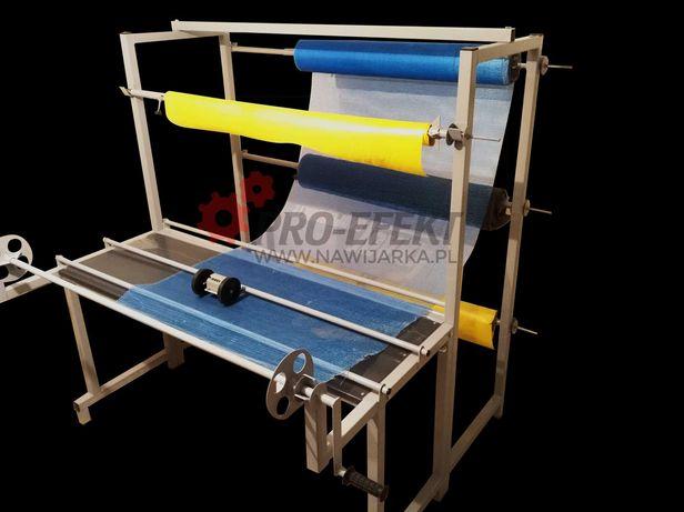 Nawijarka przewijarka folii, tkanin i materiałów budowlanych 9 ROLEK