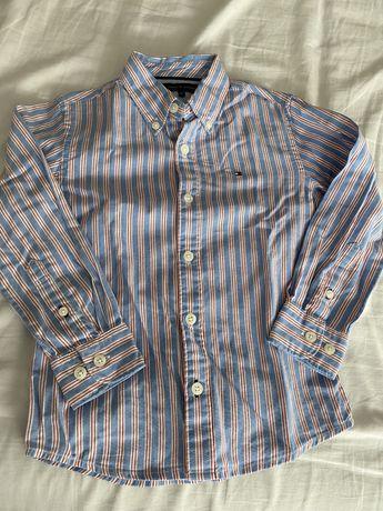 Camisa Tommy Hilfiger 5 anos