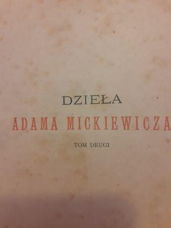 Dzieła Adama Mickiewicza 1900r