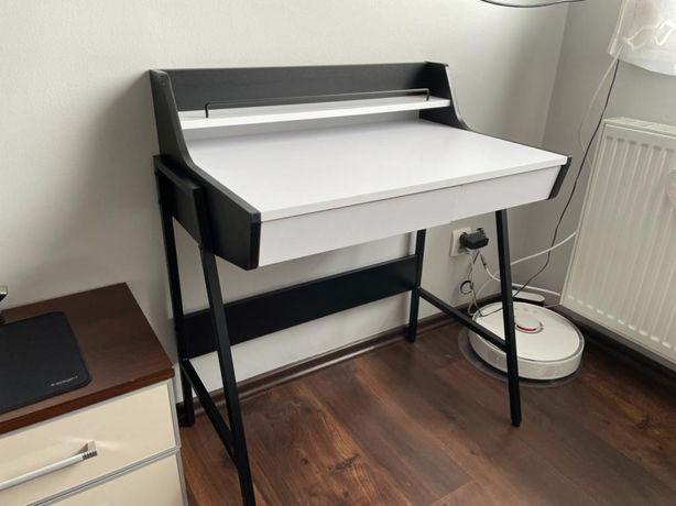 Biurko z nadstawką i szufladami - stan idealny