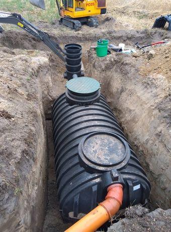 Przyłącze wody, kanalizacji, przydomowa oczyszczalnia, odwodnienia