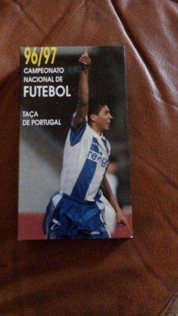 3 Cassetes VHS Taça Portugal 95/96-96/97-97/98 Futebol