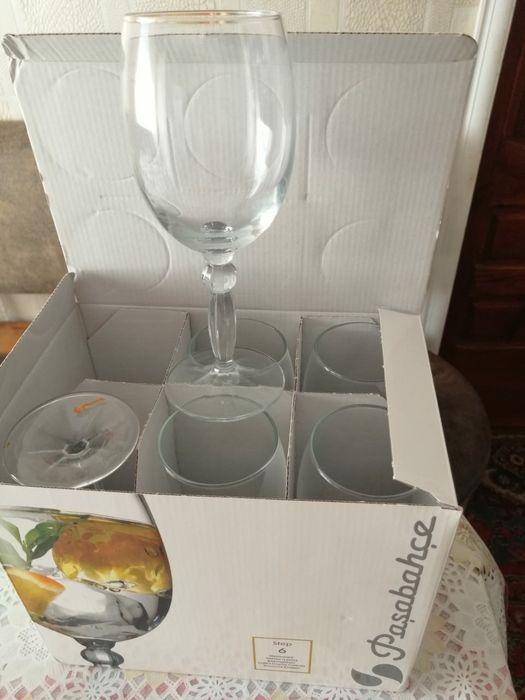 Продаётся бокалы для вина новые Славянск - изображение 1