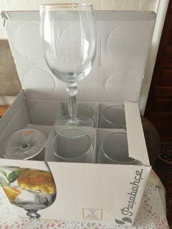 Продаётся бокалы для вина новые