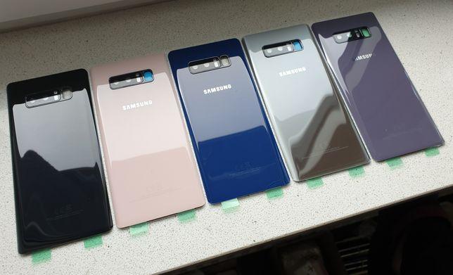 NOWE szkło tył tylne plecki obudowa Samsung Galaxy Note 8 różne kolory
