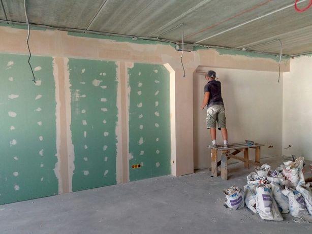 Шпаклевка стен и потолков/Покраска/Малярные работы/Штукатурка/Маляр