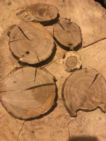 Plastry drewna,dębowe