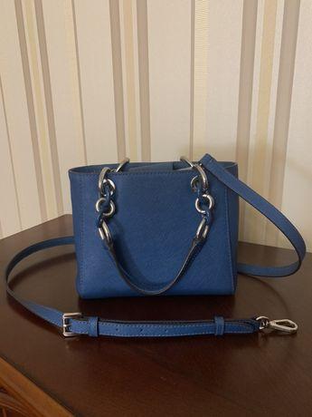 Продам сумку Michael Kors Cynthia steel blue