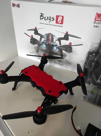 MJX Bugs 8 Dron Bezszczotkowy NOWY Szybki 70km/h Aparatura Pakiet pro