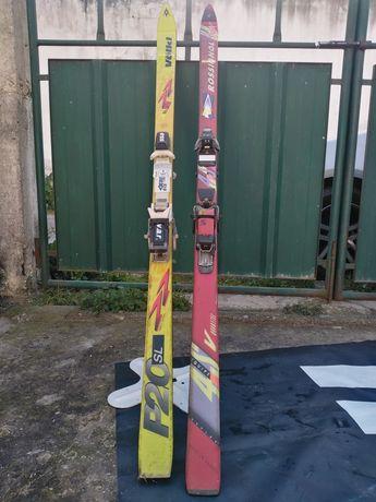 Skis volkl e Rossignol
