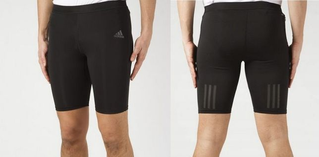 Adidas męskie spodenki sportowe krótkie legginsy Climacool roz.XS/S