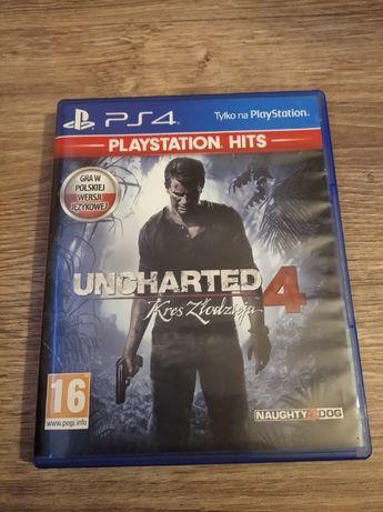 Gra PlayStation 4 UNCHARTED 4 Kres Złodzieja PL PS4