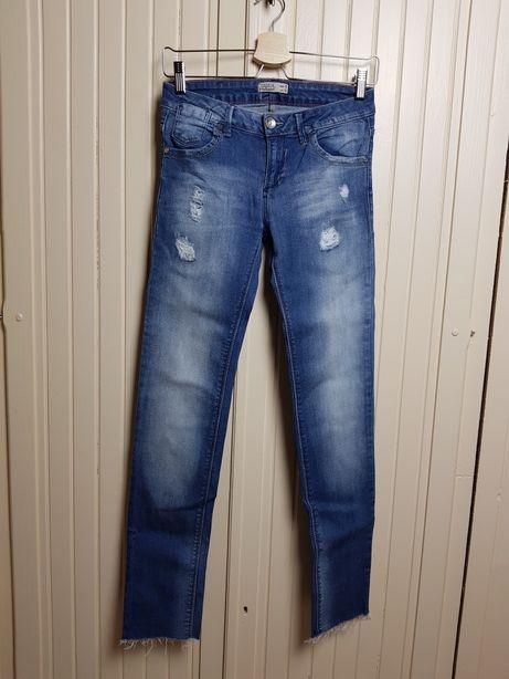 Spodnie jeansowe dżinsowe XS S