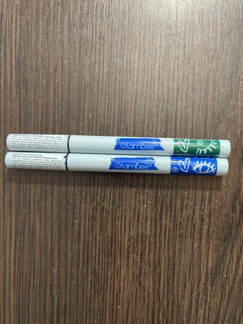Зеленая и синяя подводка-маркер, цена за две