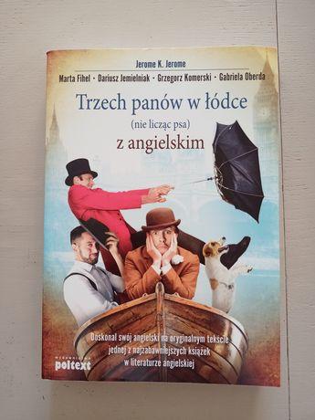 """""""Trzech panów w łódce (nie licząc psa)"""" w j. Angielskim"""