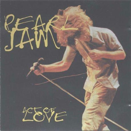 Pearl Jam Act of Love Duplo CD ao Vivo Raro