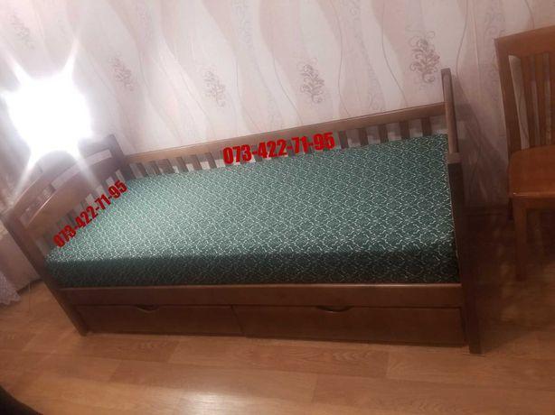 Одноярусная Карина - кровать от производителя с ольхи