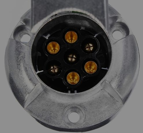 ficha eléctrica atrelado reboque modulo tomada caravana conector