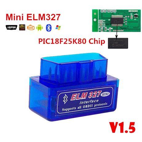 ELM327 v1.5 Диагностический сканер авто ЗАЗ ВАЗ ДЭУ OBD2 Bluetooth