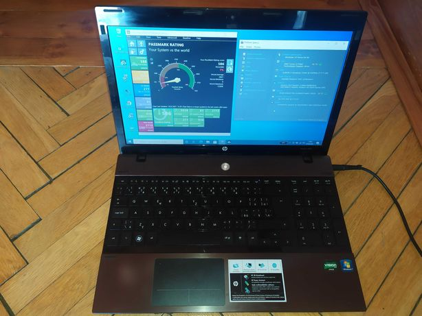 Laptop 15.6 HP Compaq ProBook 4525s AMD 2x ATI Win10 SSD HDMI nauka