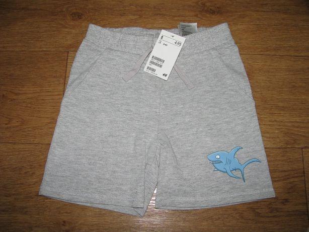 Новые шорты для мальчика H&M.