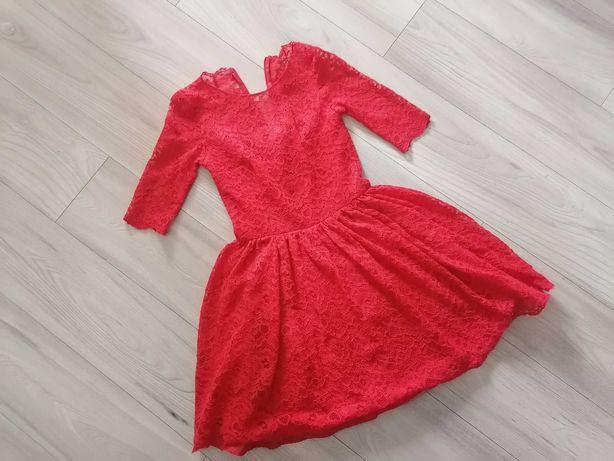 Lou M sukienka czerwona
