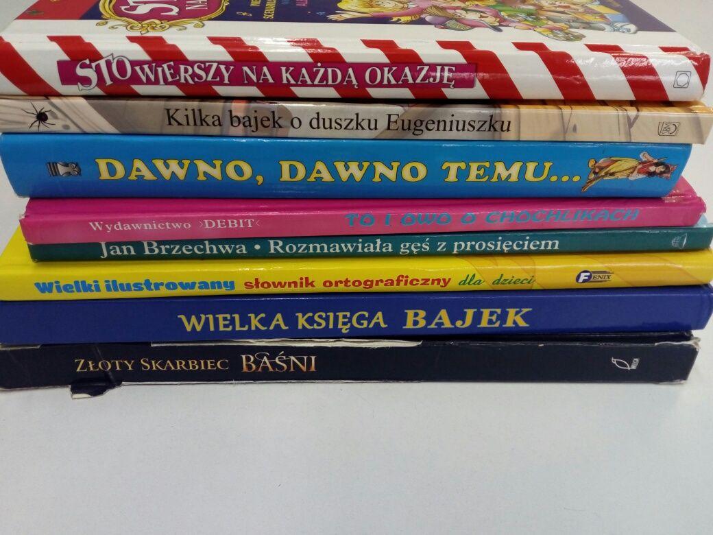 Zestaw książek z bajkami dla dzieci