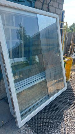 Окно металлопластиковое 1,65×1,90